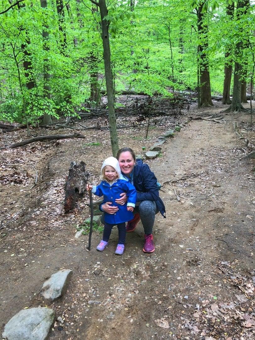 toddler hiking photo