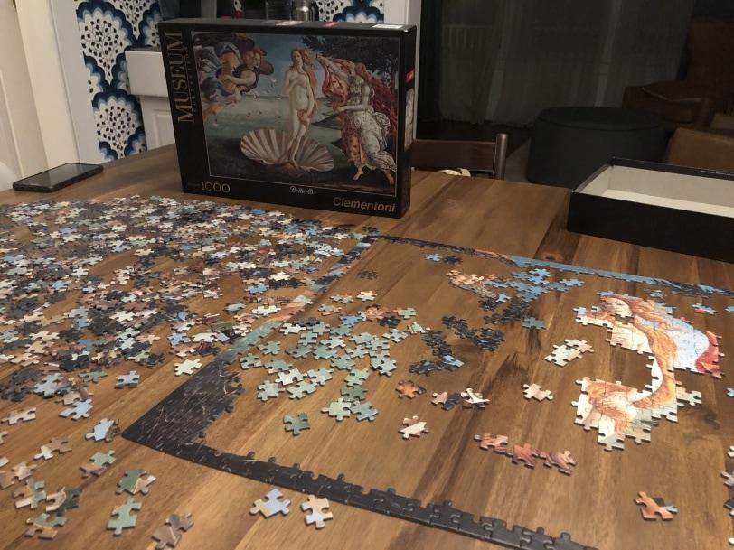 puzzle night