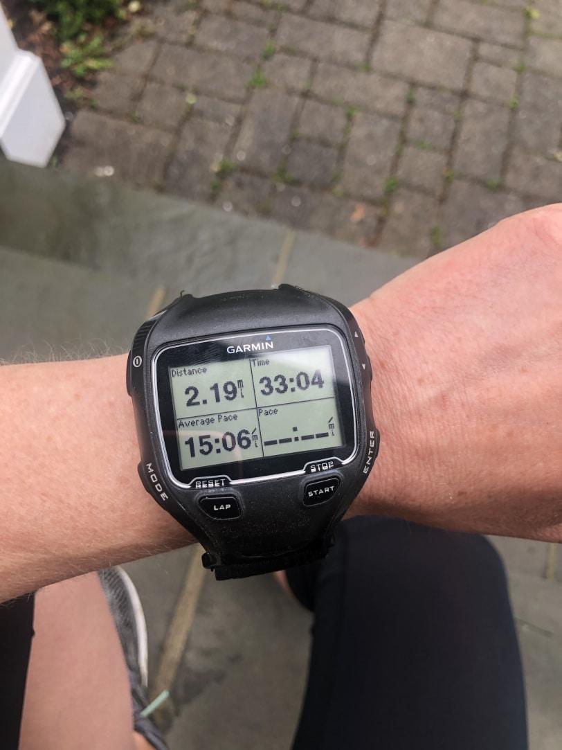 run/walk watch photo