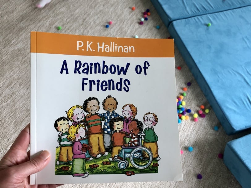 a rainbow of friends book