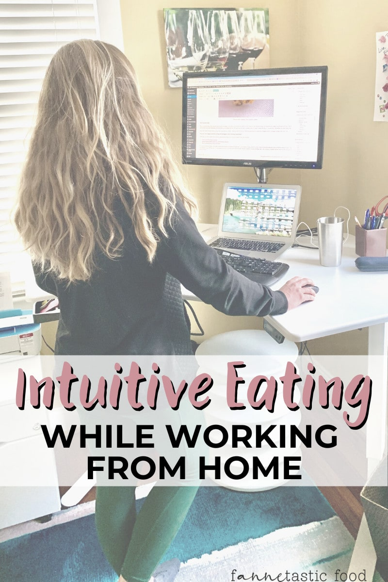 intuitive eating while working from home