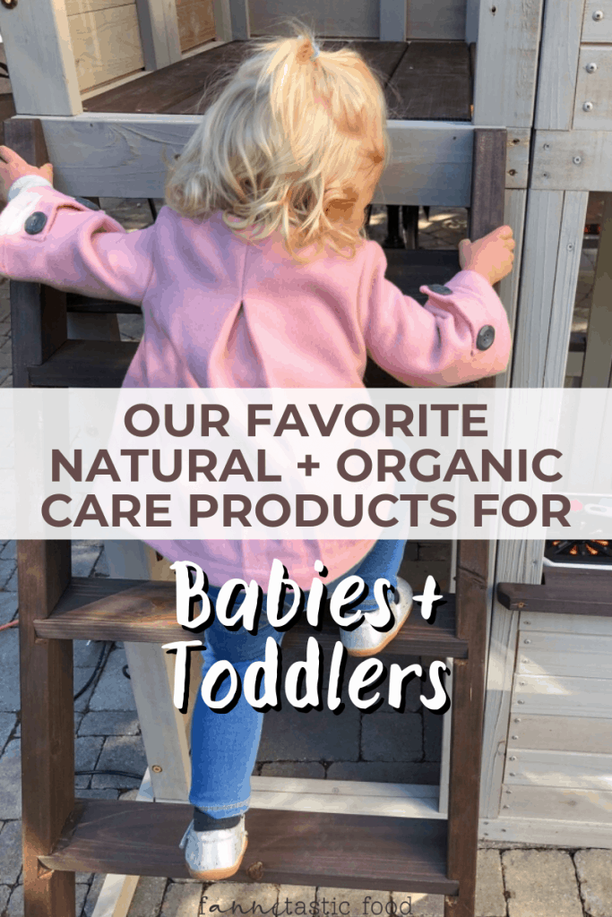 natural products for toddlers