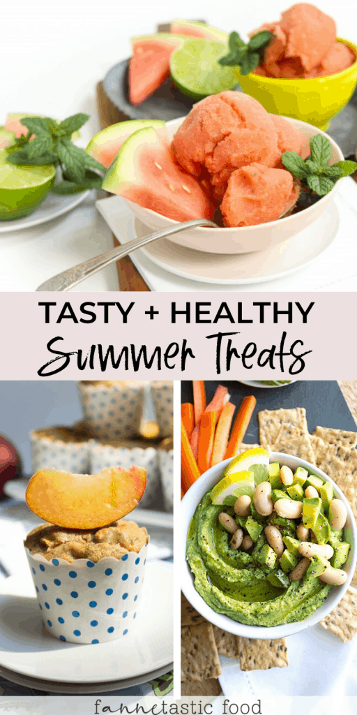 Tasty Summer Treats & Healthy Snacks for Summer