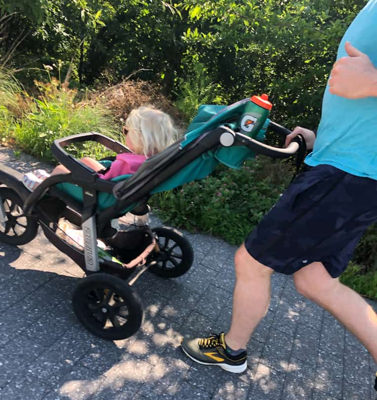 family stroller run