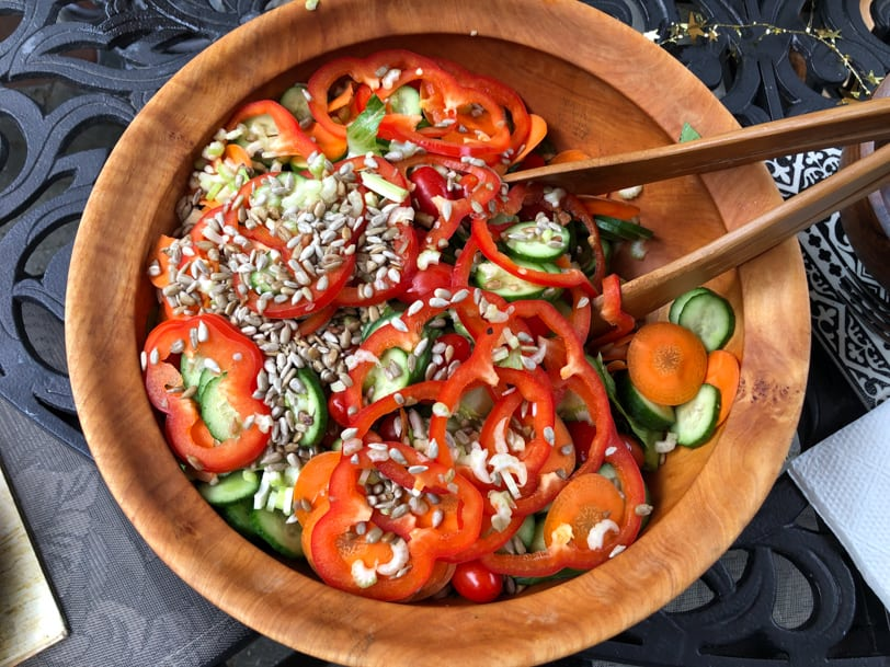 super colorful salad