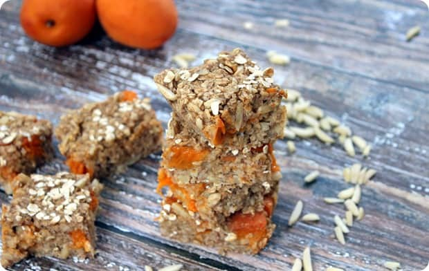 apricot oatmeal bars