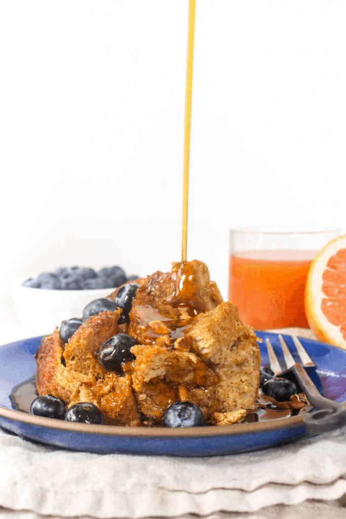 overnight french toast in the crockpot
