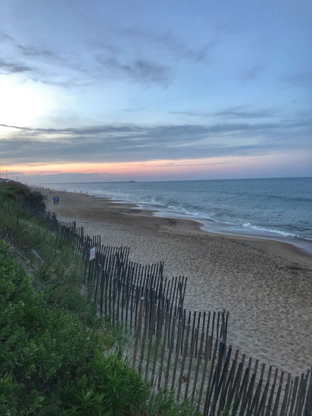 sunset duck nc beach