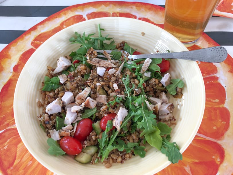 quinoa salad with chicken