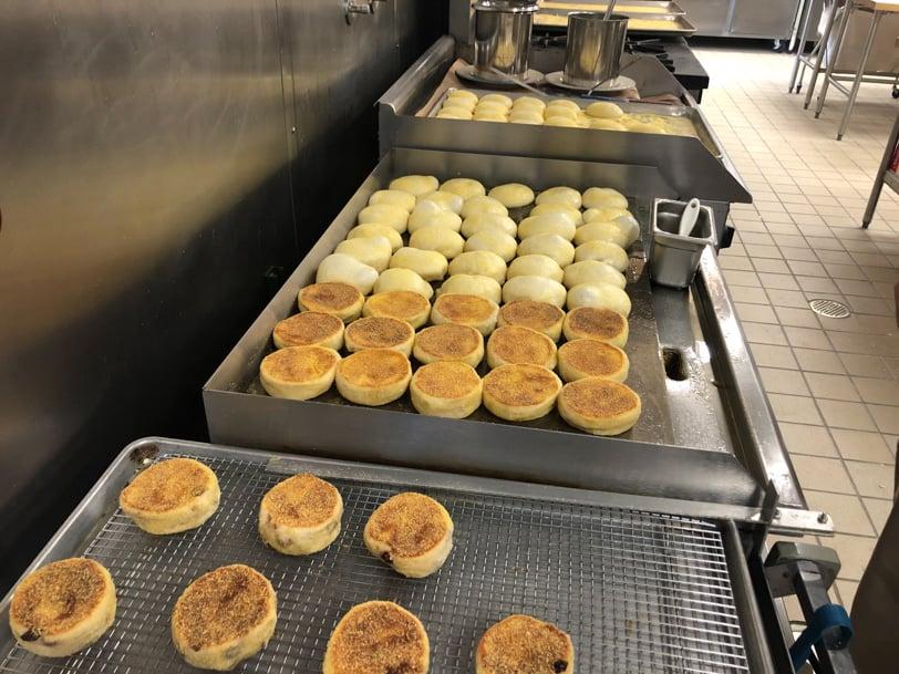 handmade english muffins