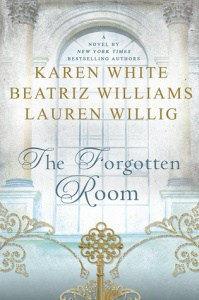 book cover: the forgotten room by karen white