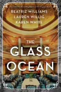 book cover: the glass ocean by beatriz williams
