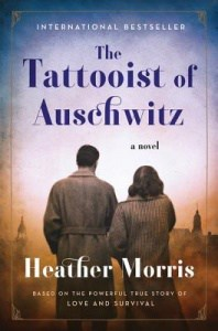 book cover: the tattooist of auschwitz by heather morris