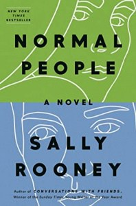 book cover: normal people by sally rooney