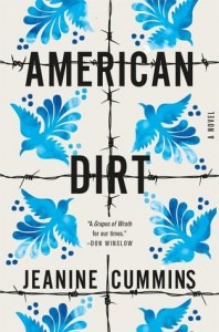 book cover: american dirt by jeanine cummins