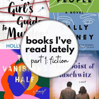 fiction books I've read lately