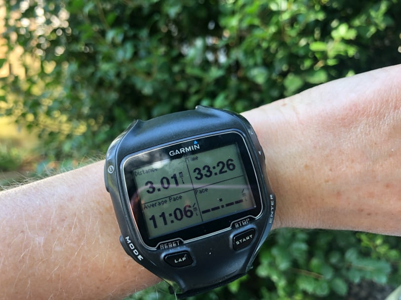running watch picture