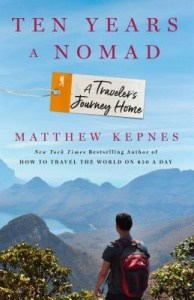 book cover: ten years a nomad