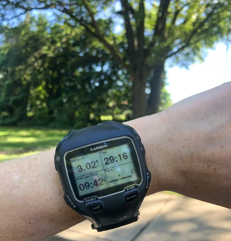 running watch stats