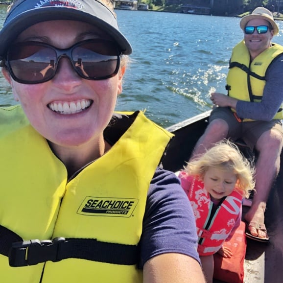 canoe ride lake anna