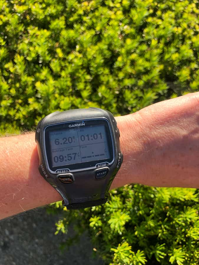 garmin watch picture with 10k