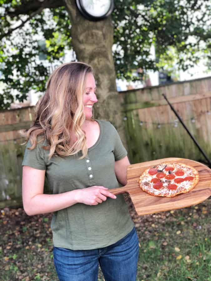 CPK Uncured Pepperoni, Mushroom & Sausage Cauliflower Crust Frozen Pizza