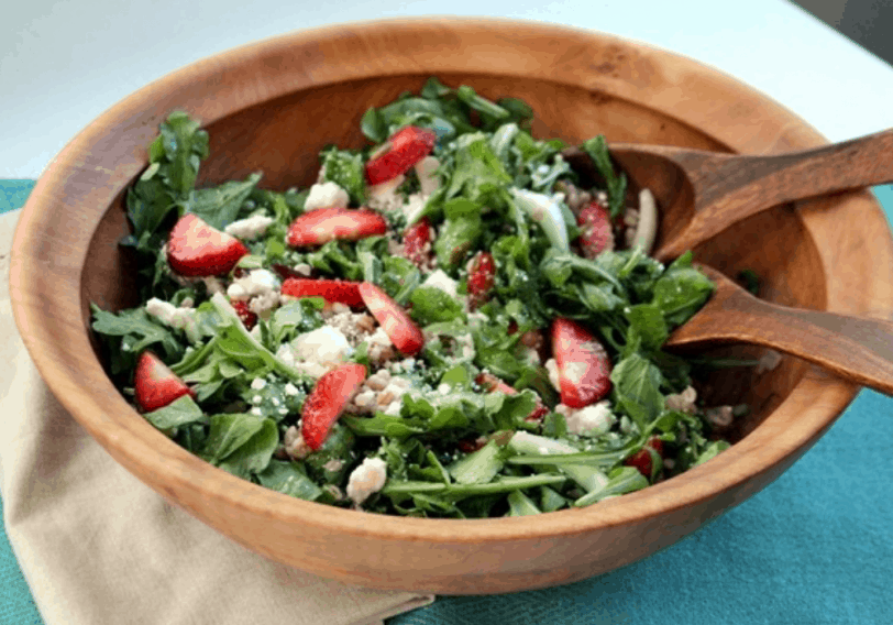 strawberry salad side dish for chicken