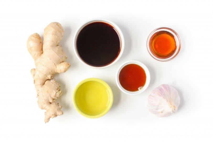 soy ginger tofu glaze ingredients