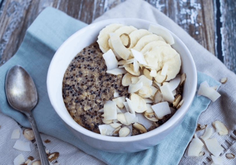 coconut breakfast quinoa