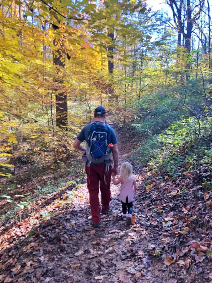 hiking potomac overlook trail