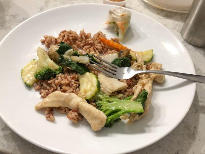thai food from sawatdee
