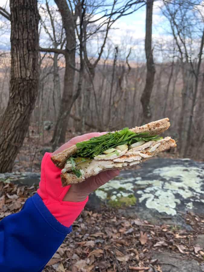hiking sandwich