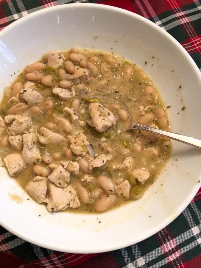 chicken white bean chili
