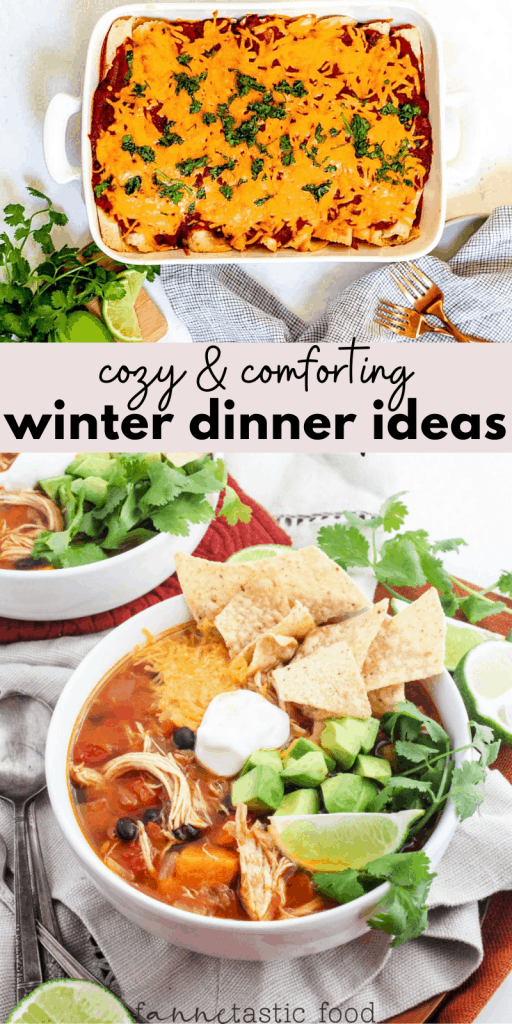 cozy and comforting winter dinner ideas