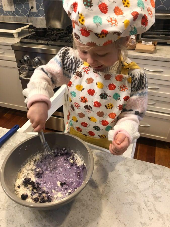 purple pancakes