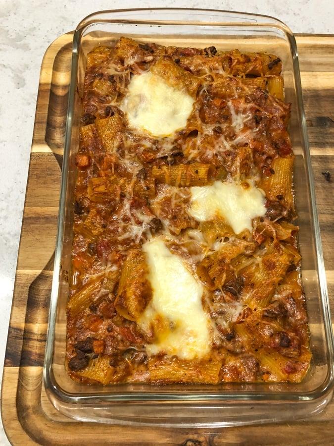 ina garten baked rigatoni with lamb ragu