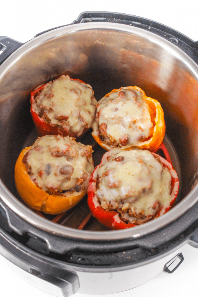stuffed peppers in an Instant Pot
