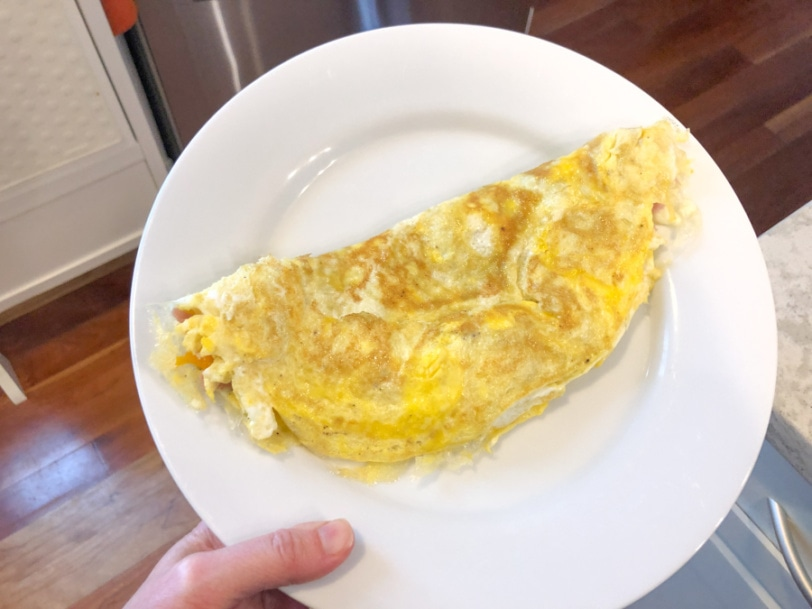 ham and cheese omelette perfection