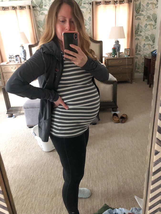 26 week pregnancy bump