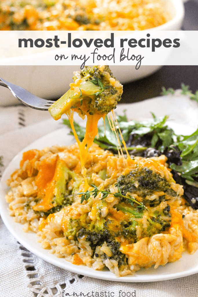 most loved recipes on fANNEtastic food blog