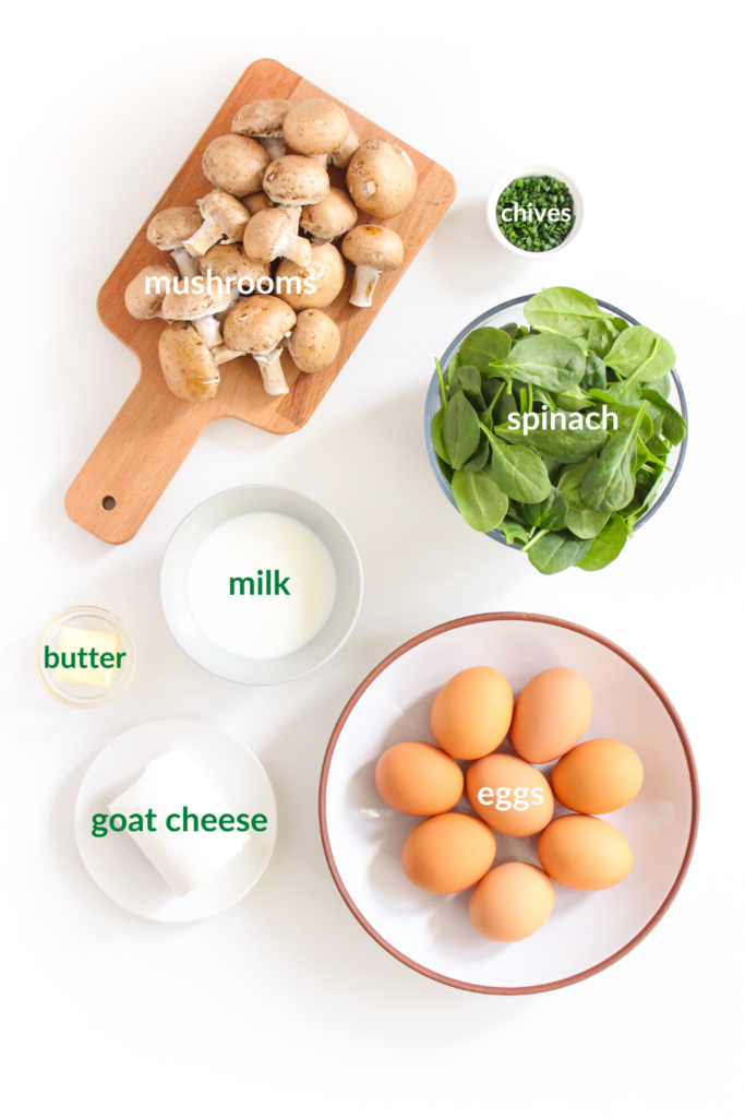 goat cheese frittata ingredients