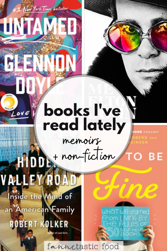 books I've read lately - non-fiction and memoirs