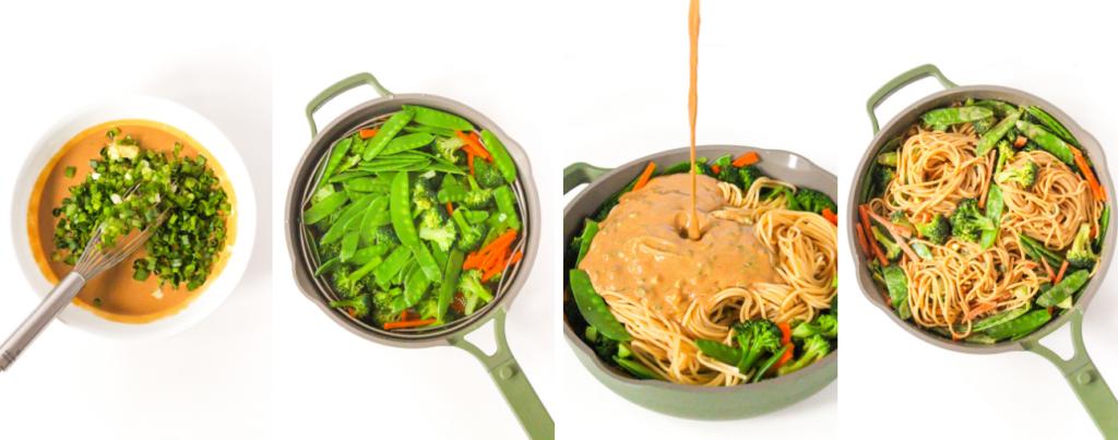 peanut butter noodles cooking steps