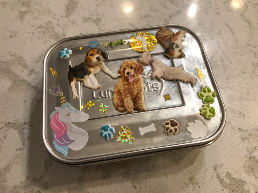 toddler snack box stainless steel