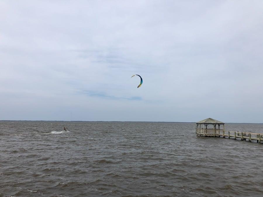 kitesurfing in duck NC