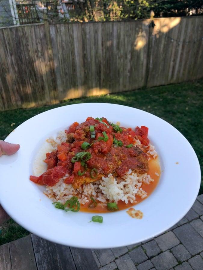 saucy tomato chicken