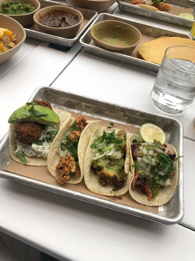 tacos from bartaco in mosaic