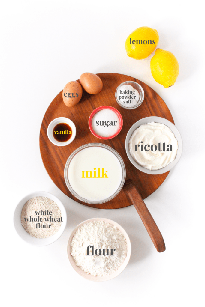 lemon pancakes ingredients