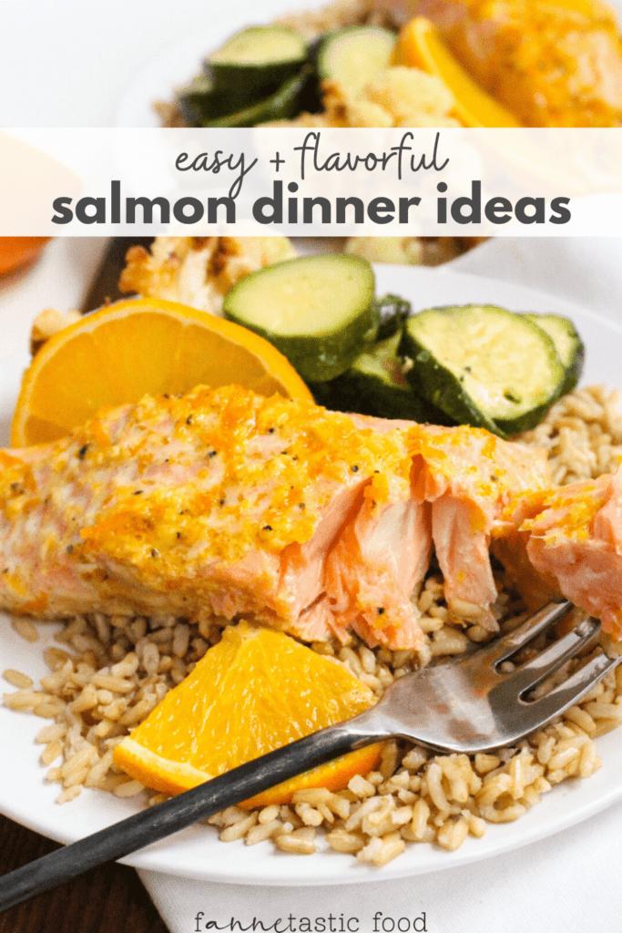 healthy salmon dinner ideas
