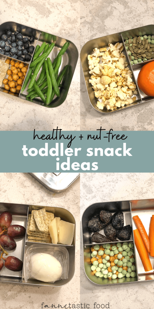 nut free and healthy toddler snack ideas